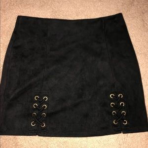 Charlotte russe high waisted skirt
